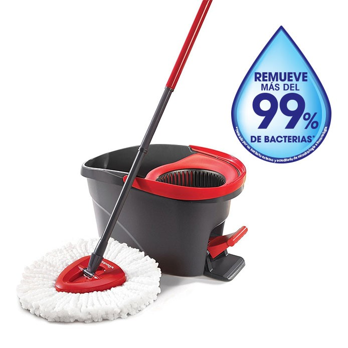 Easy Wring - Spin Mop y Cubo con Pedal